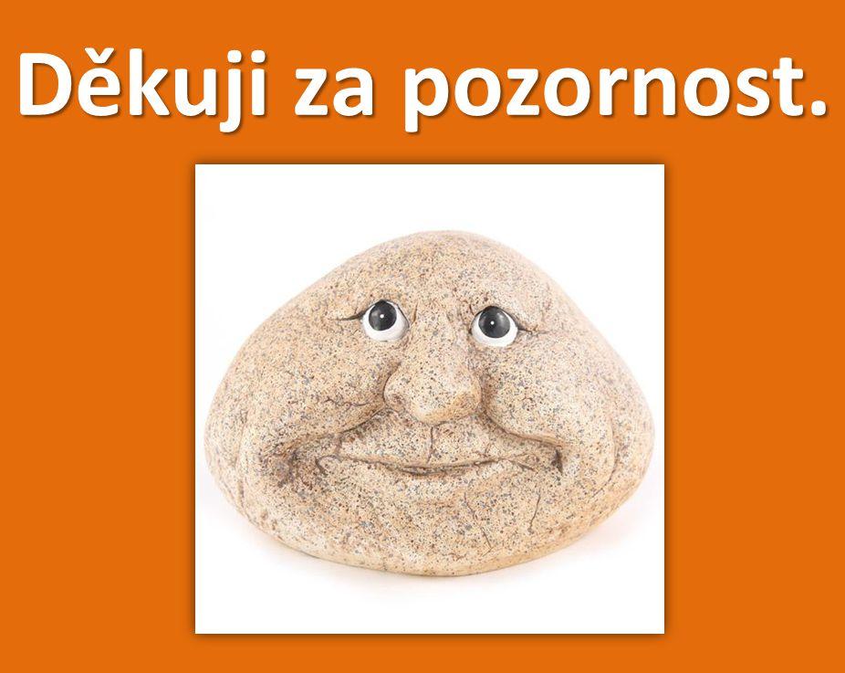 Použité zdroje: 1. M. Procházka: Léčivá moc kamenů, Grada, Praha 2009. 2. Internet - www. google