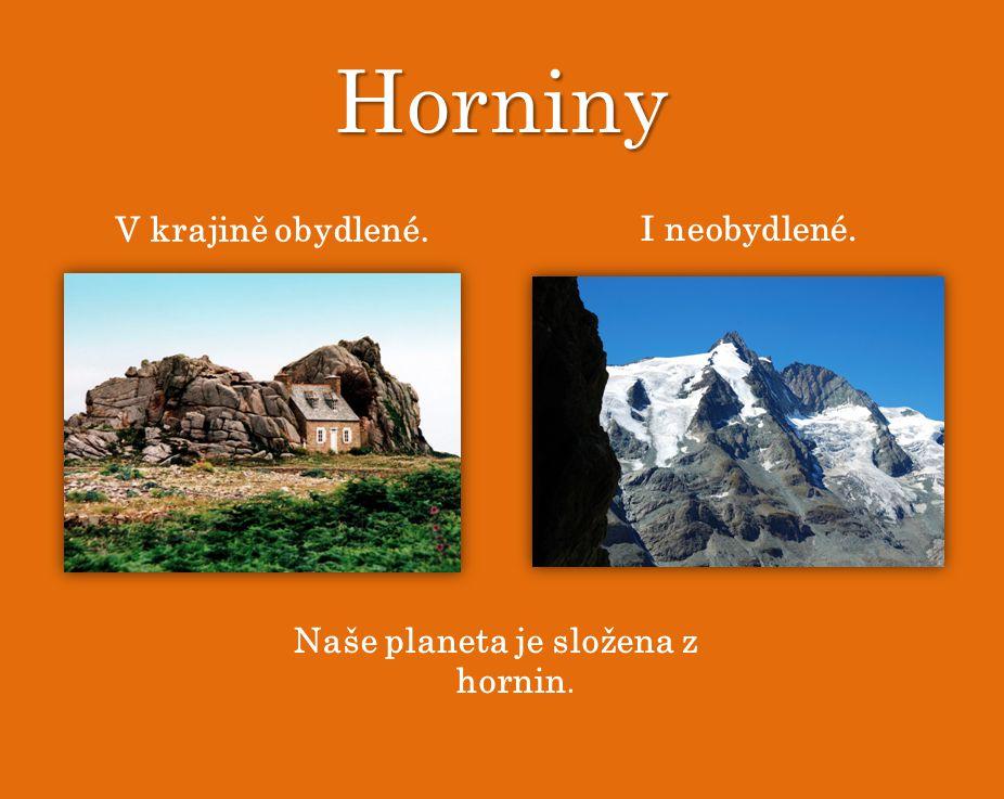 M. Horák Nerosty a horniny