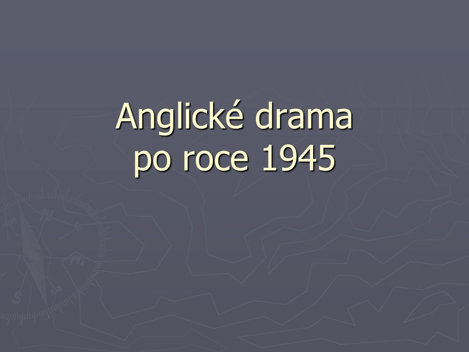 Anglické drama po roce 1945