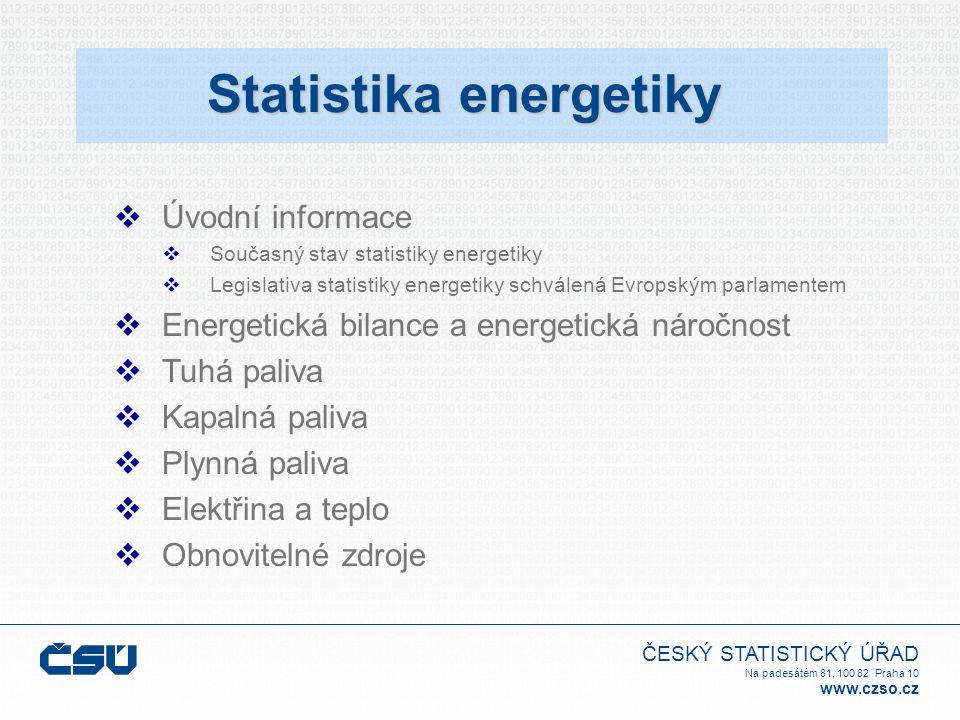 ČESKÝ STATISTICKÝ ÚŘAD Na padesátém 81, 100 82 Praha 10 www.czso.cz Děkuji Vám za pozornost