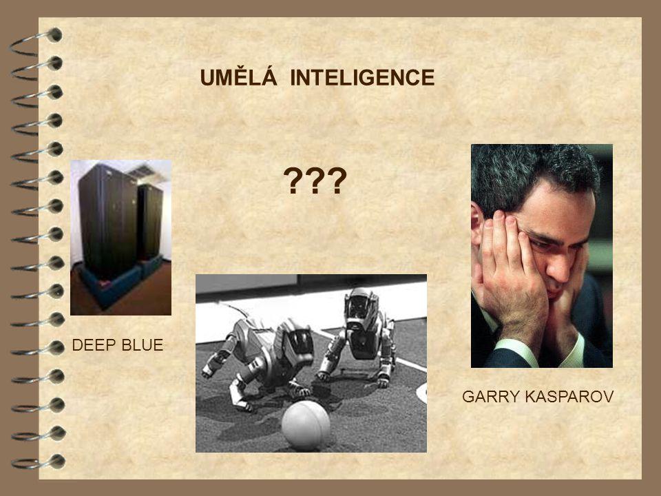 UMĚLÁ INTELIGENCE GARRY KASPAROV DEEP BLUE ???