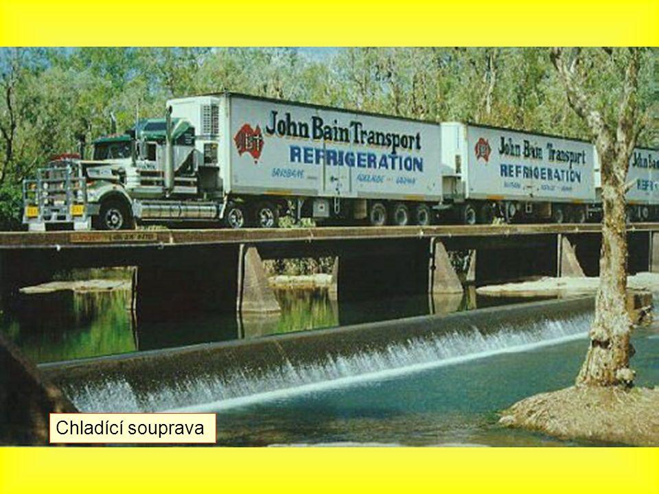 Keep on truckin'... jsou neustále v pohybu!