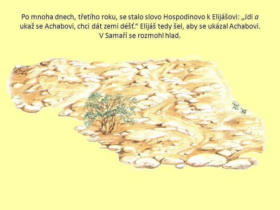 26. Elijáš na hoře Karmel