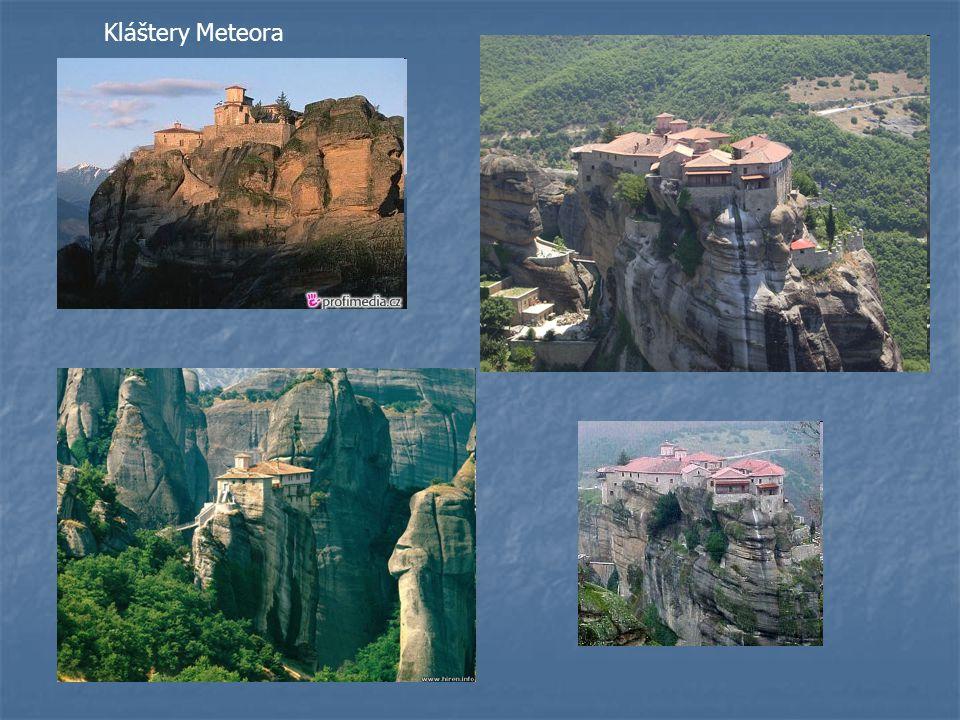 Kláštery Meteora