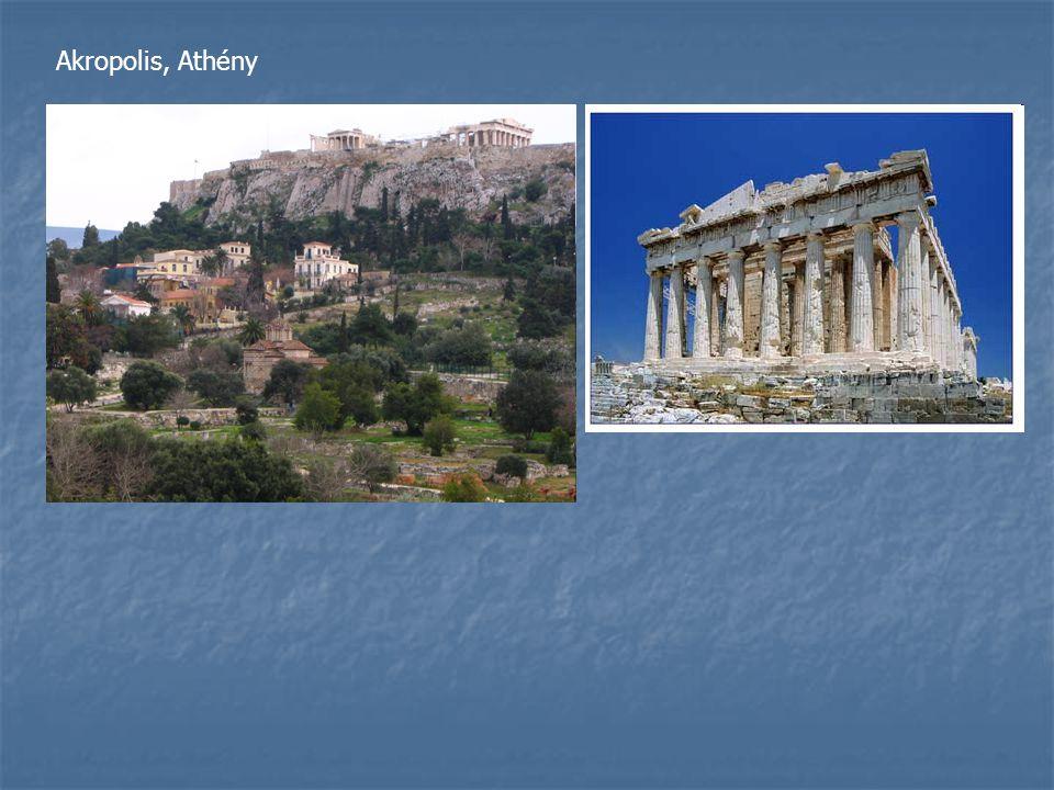 Akropolis, Athény