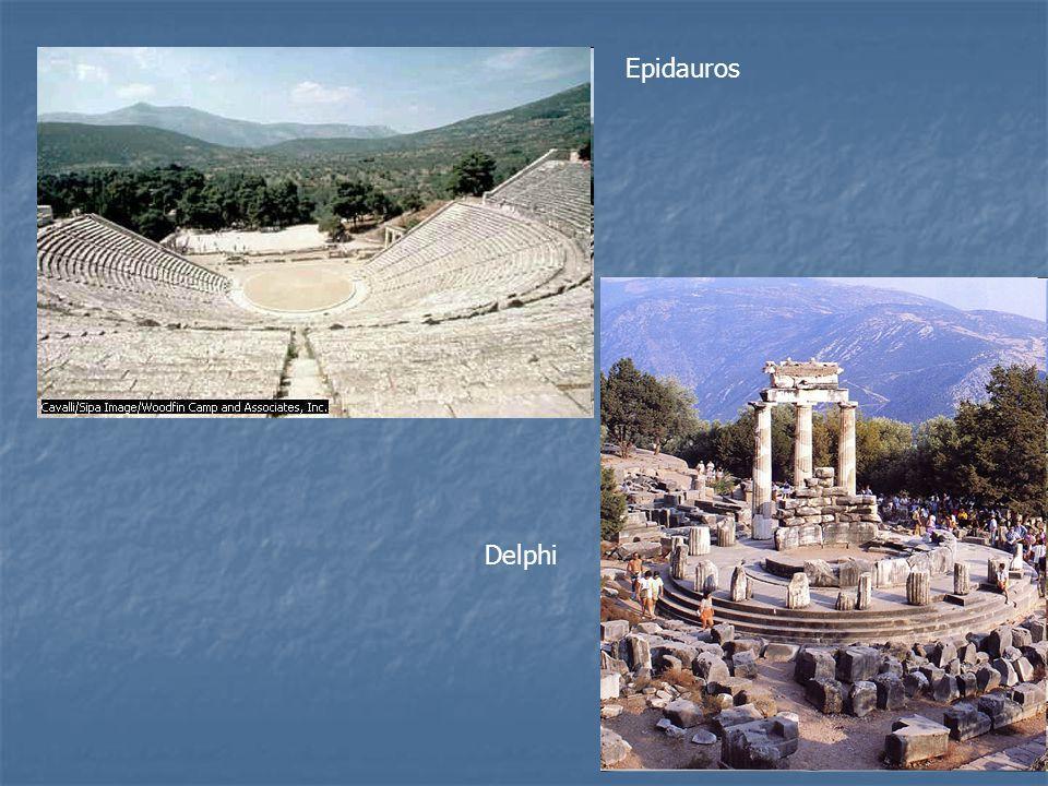Epidauros Delphi