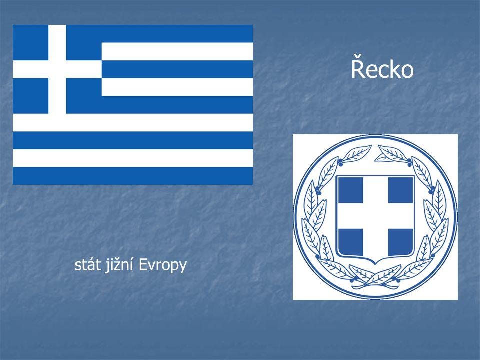 Řecko stát jižní Evropy