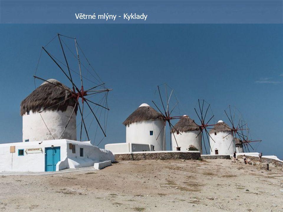 Větrné mlýny - Kyklady