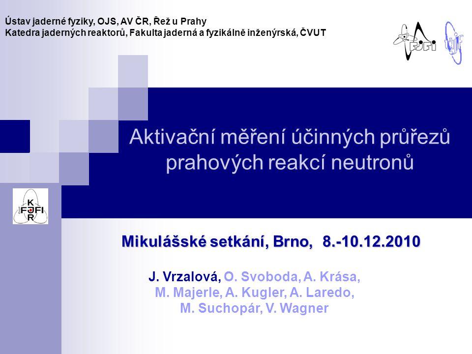 """12 TALYS 1.0 – jaderné modely - Motivace Detekce neutronů Vyhodnocení Korekce - Měření účinných průřezů - Zdroje neutronů - Odečet pozadí - ÚJF Řež - TSL Uppsala - Srovnání ÚJF, TSL - Závěr ld1 – Fermiho model ld2 – """"zpětně-posunutý Fermiho model ld3 – """"supratekutý model ld4 - Gorielyho tabulka ld5 - Hilaireyho tabulka Modely s různou hustotou hladin v jádře mění tvar účinného průřezu v závislosti na energii neutronů"""