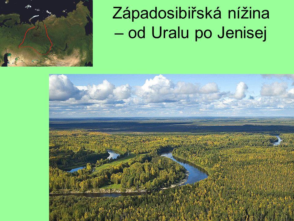 Středosibiřská vysočina – mezi řekami Jenisej a Lena