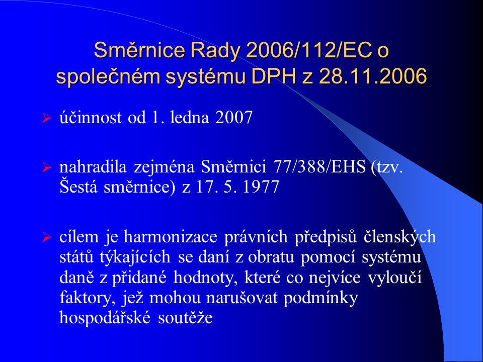 Daň z přidané hodnoty zákon č. 235/2004 Sb., o dani z přidané hodnoty (ve znění k 1.1.2009 dle stavu k září 2008)