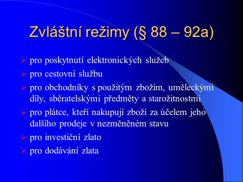 Krácení nároku na odpočet (§76) Zálohový koeficient – v běžném kalendářním roce; stanovený dle údajů z předchozího kalendářního roku příp. předběžný o