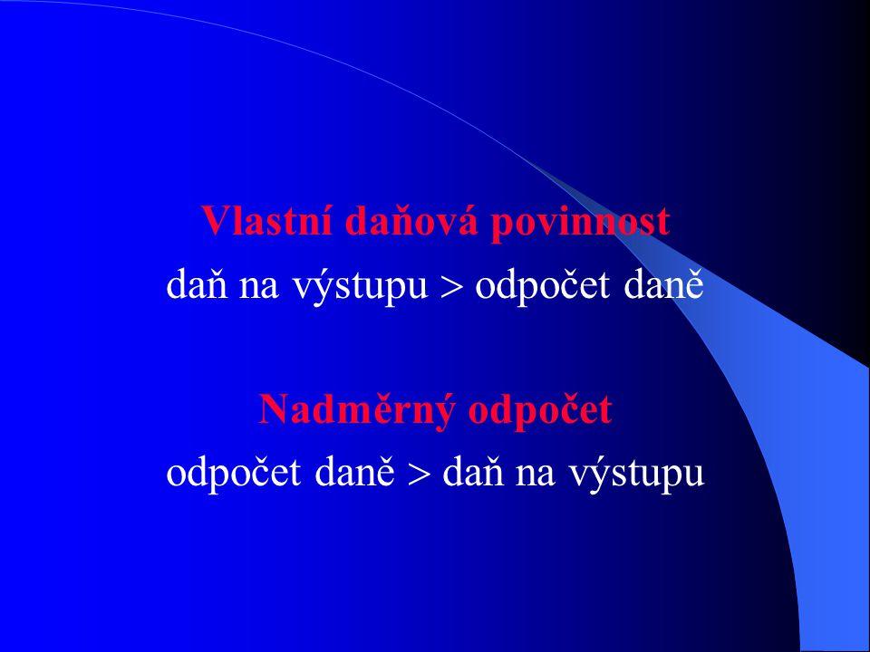 Zdaňovací období (§ 99) Měsíční  obrat za předcházející kalendářní rok  10 mil. Kč Čtvrtletní  obrat za předchozí rok < 10 mil. Kč Plátce si může z