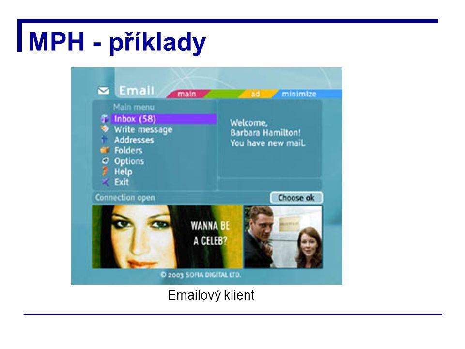 MPH - příklady Emailový klient