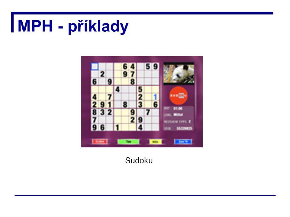 MPH - příklady Sudoku