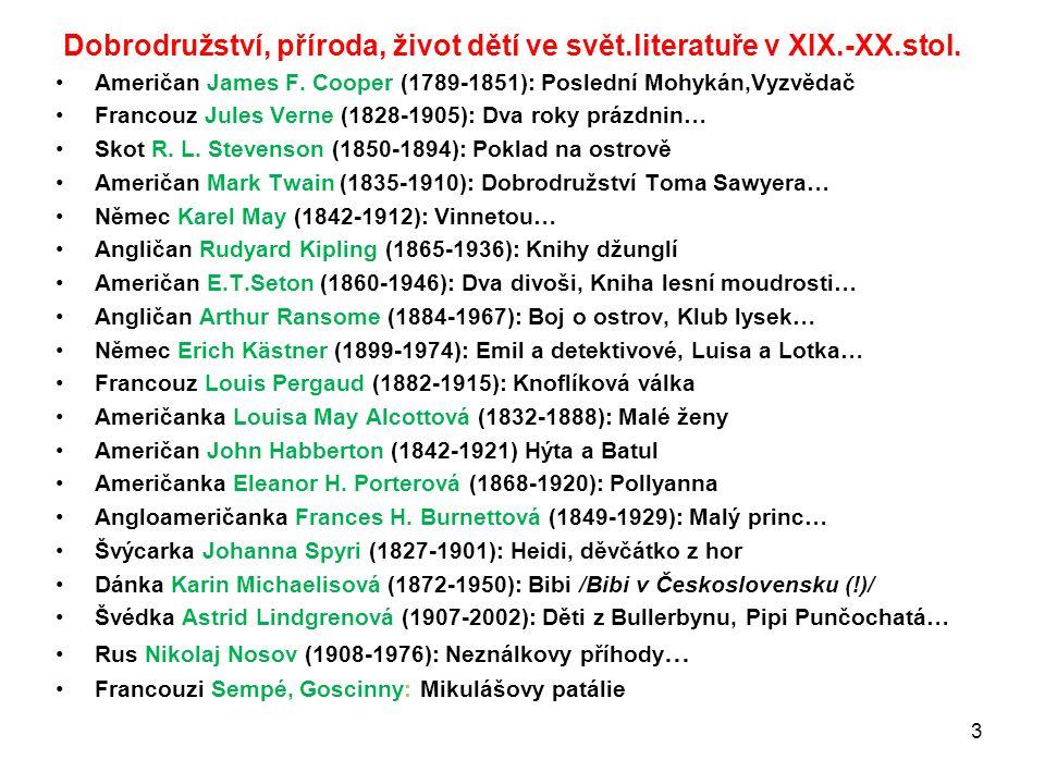 Česká literatura pro děti v XIX.stol.: Sběratelé pohádek: K.J.