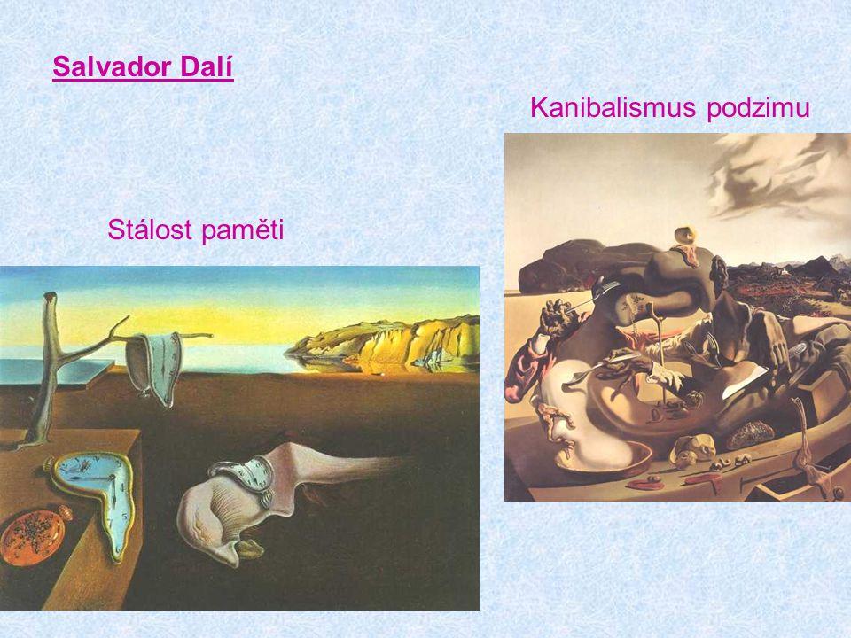 Salvador Dalí Proměny Narcise