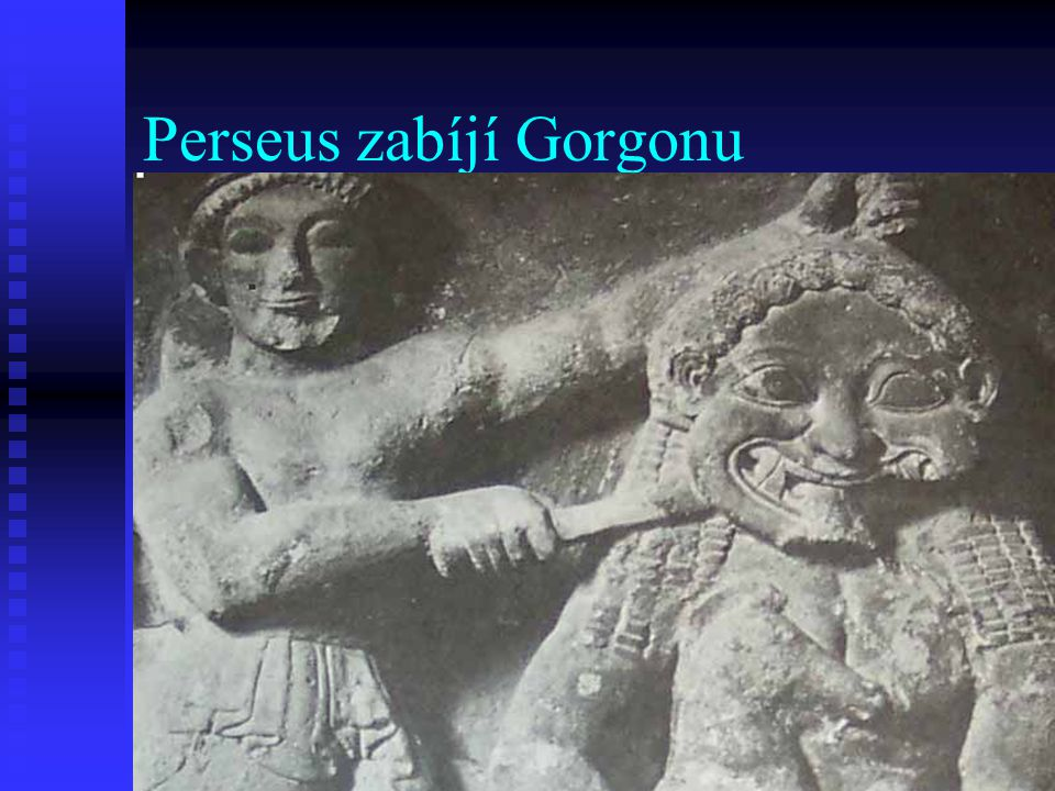 Perseus zabíjí Gorgonu