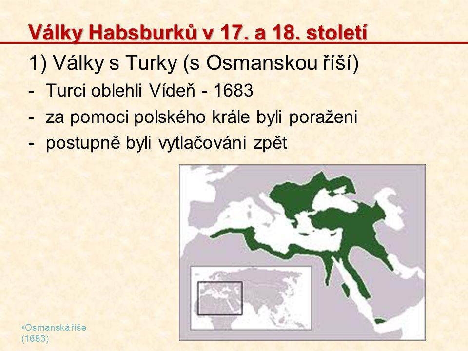 Války Habsburků v 17.a 18.