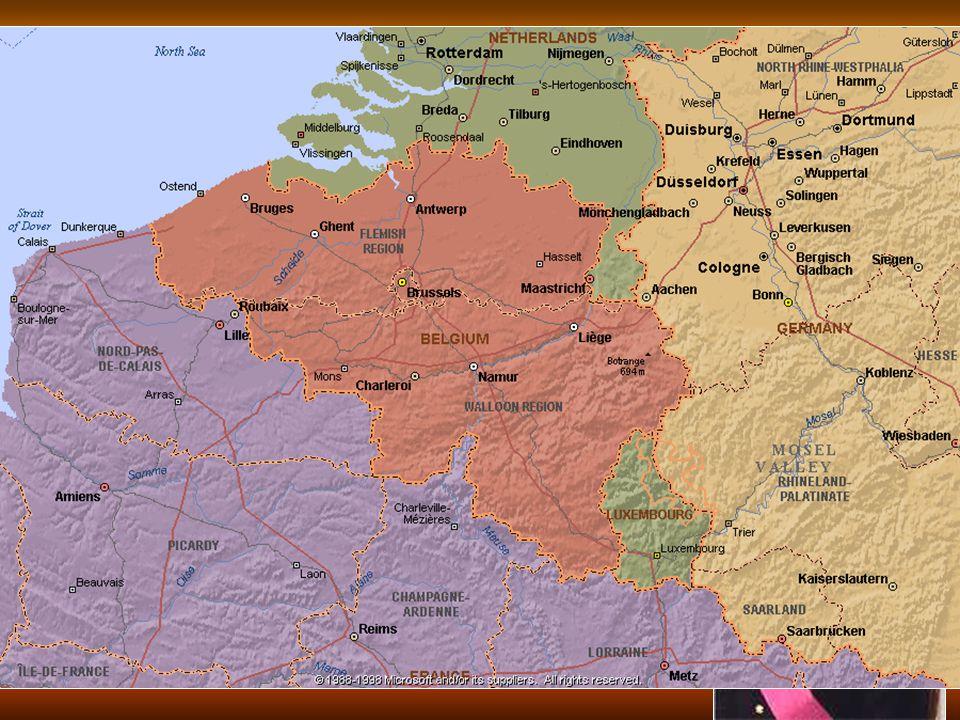 Belgické království 10 mil. obyvatel, 30 000 km 2 10 mil. obyvatel, 30 000 km 2 samostatný stát od roku 1830 (odtržení od Holandska) samostatný stát o