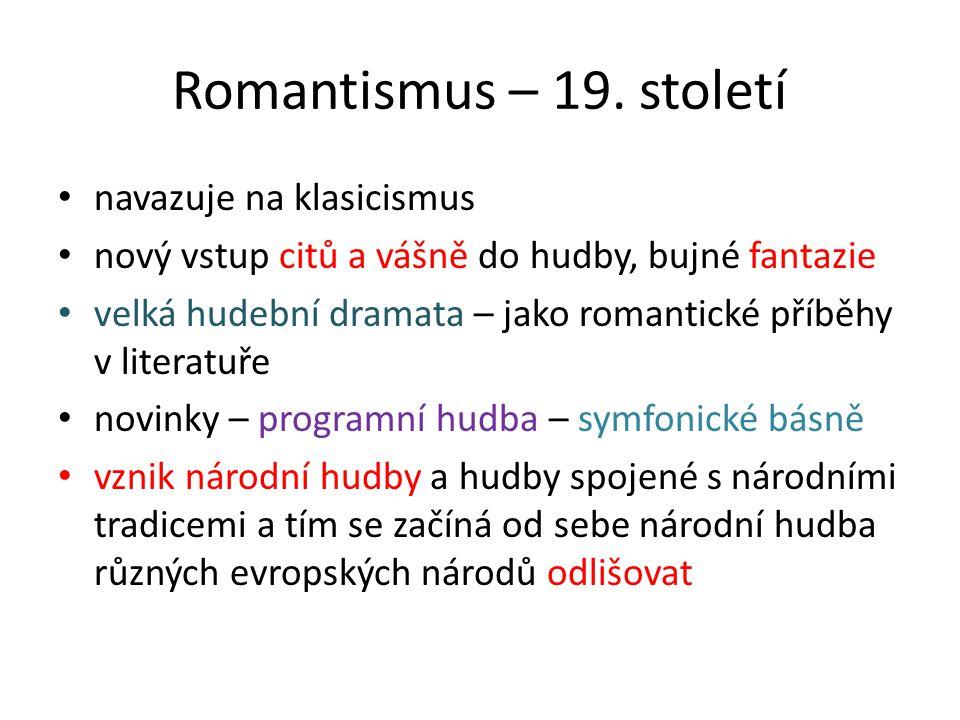 Romantismus – 19.