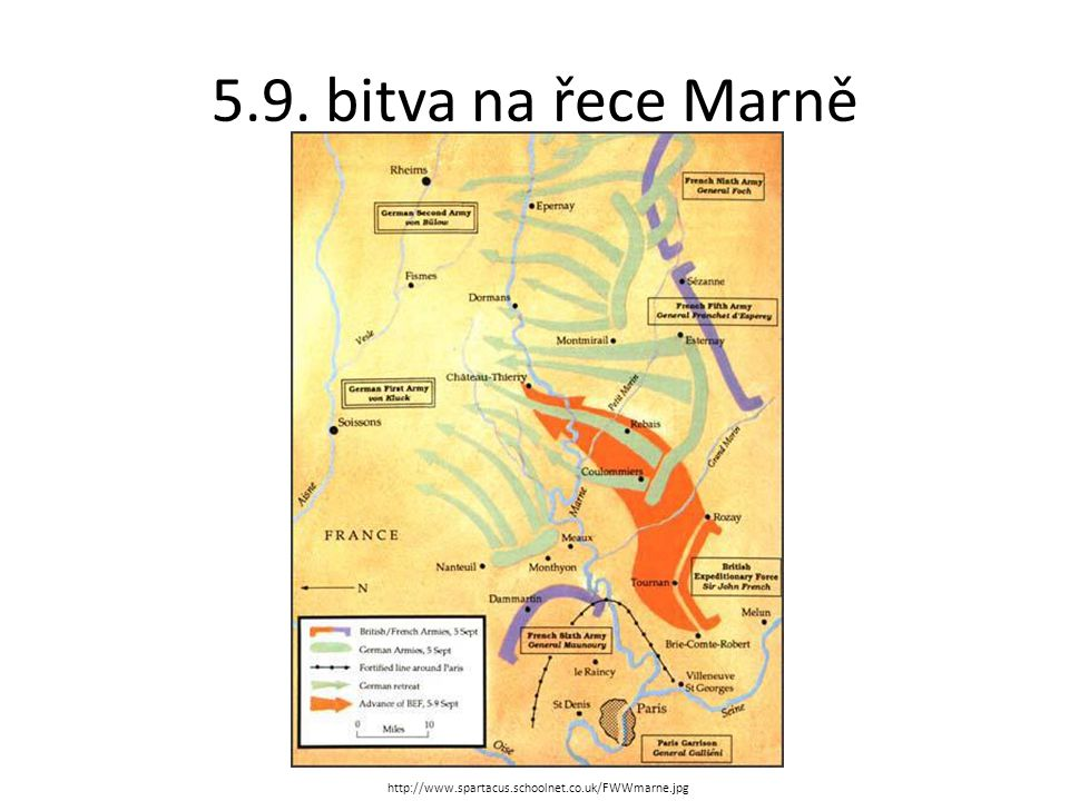 5.9. bitva na řece Marně http://www.spartacus.schoolnet.co.uk/FWWmarne.jpg