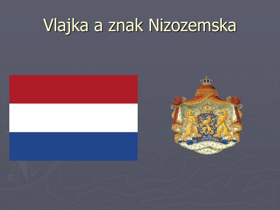 Vlajka a znak Nizozemska