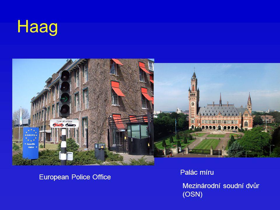 Haag Palác míru Mezinárodní soudní dvůr (OSN) European Police Office