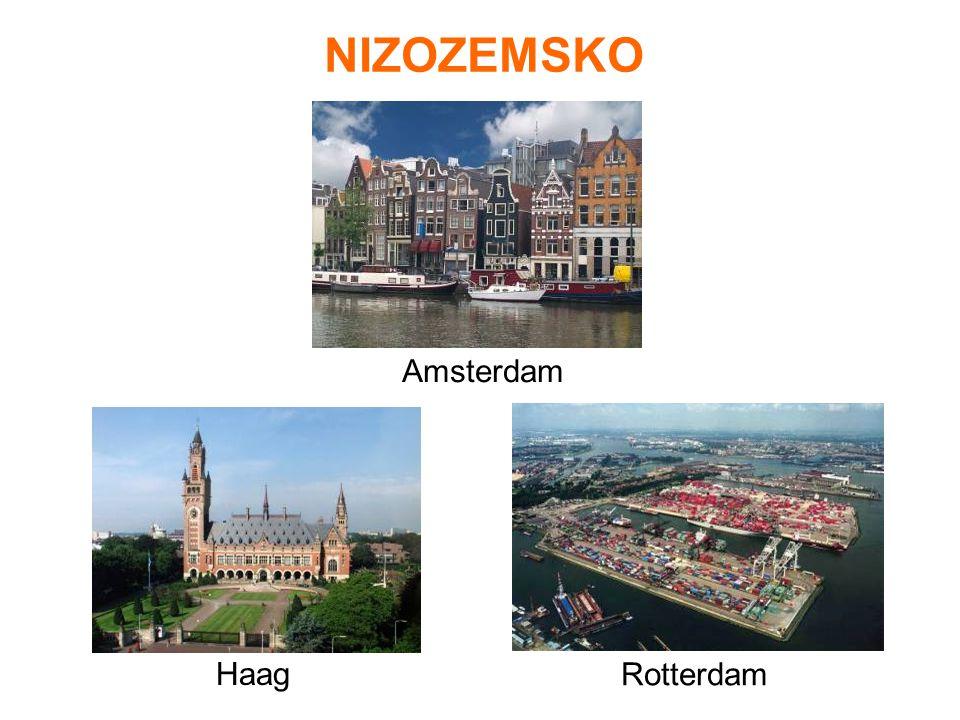 NIZOZEMSKO Amsterdam Haag Rotterdam