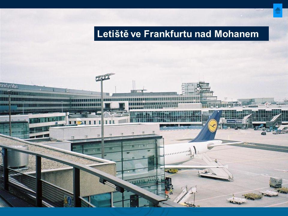 Letiště ve Frankfurtu nad Mohanem