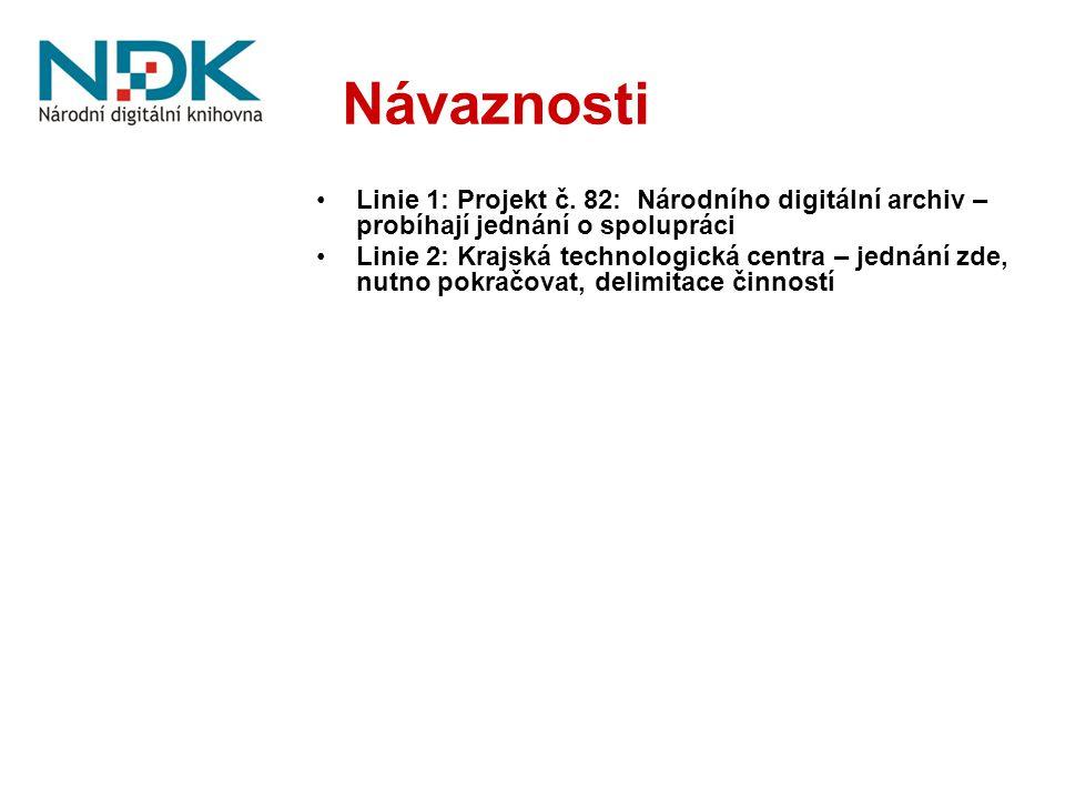 Návaznosti Linie 1: Projekt č.