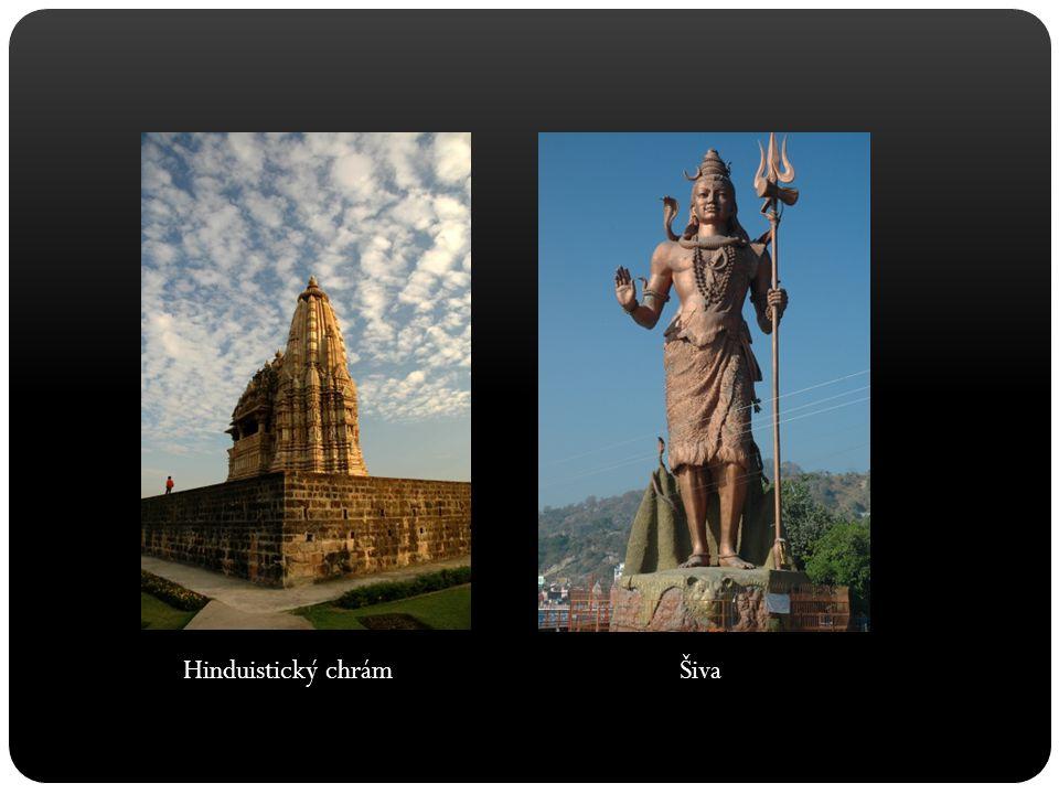 Hinduistický chrám Šiva