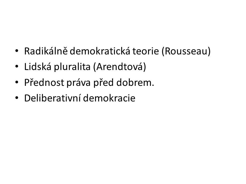 Struktura Modely demokracie Komparace ústavních a politických institucí