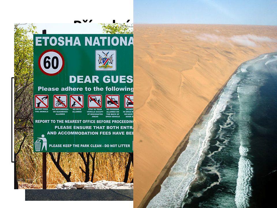 Přírodní podmínky Přiřaď typy krajin k významným oblastem