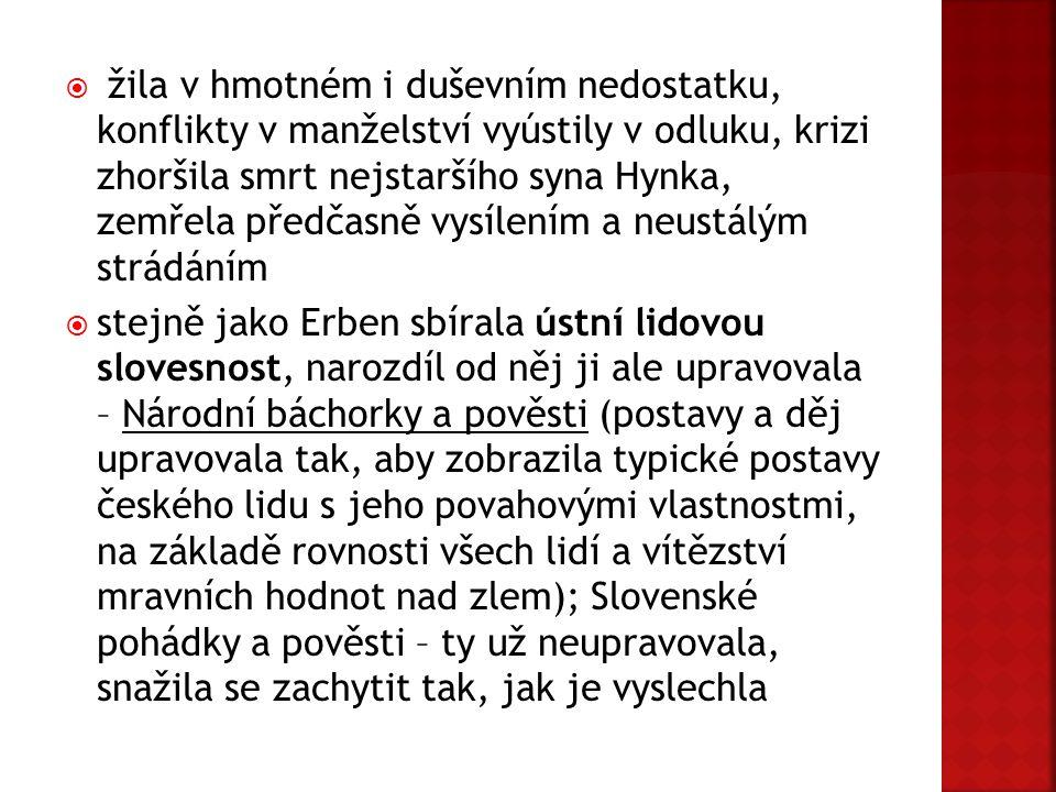 Obr.č.2 – Hrob Němcové na Vyšehradském hřbitově Obr.č.