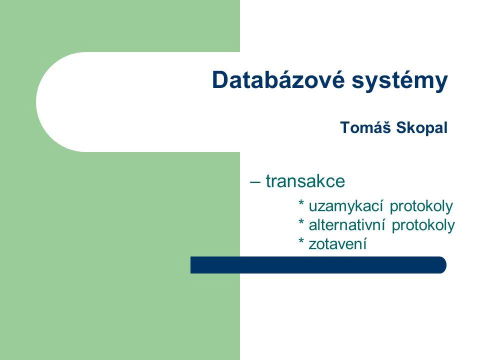 Optimistické řízení základní předpoklad je, že ke souběžně vykonávané transakce mohou přijít do konfliktu jen zřídka (tj.