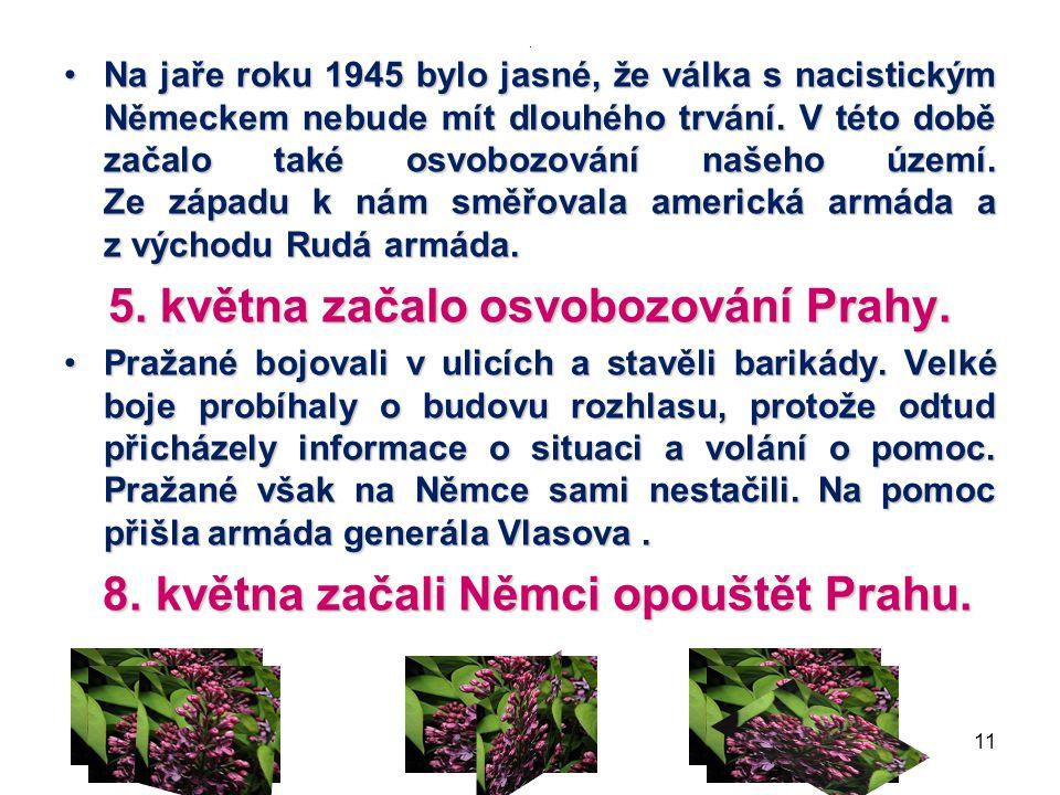 Květnové povstání českého lidu 5.5. 10 BARIKÁDA MARŠÁL KONĚV V PRAZE