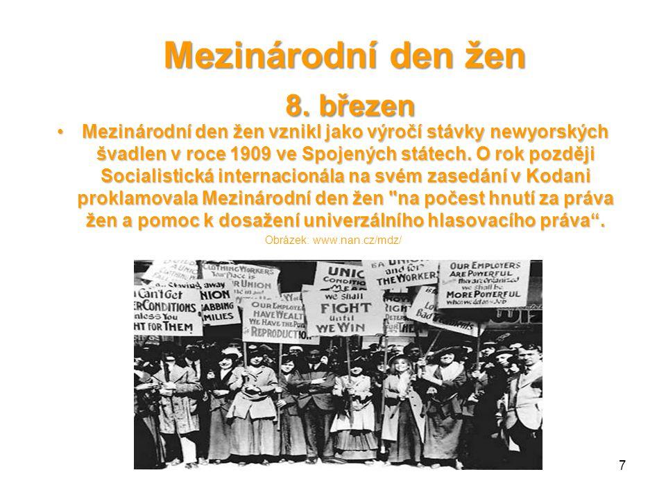 Mezinárodní den žen 8.