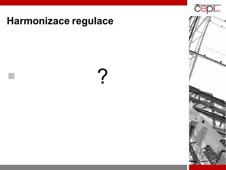 Harmonizace regulace 