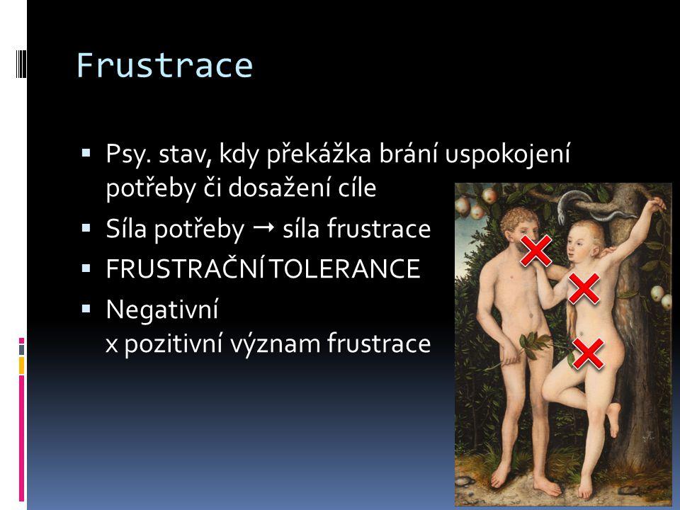 Frustrace  Psy.