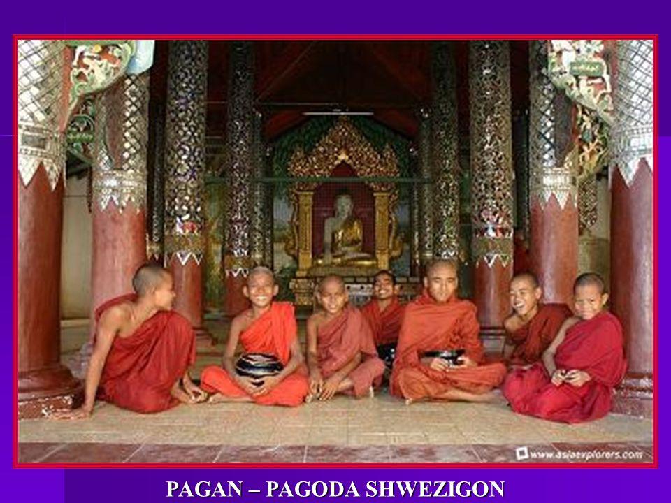 PAGAN – PAGODA SHWEZIGON