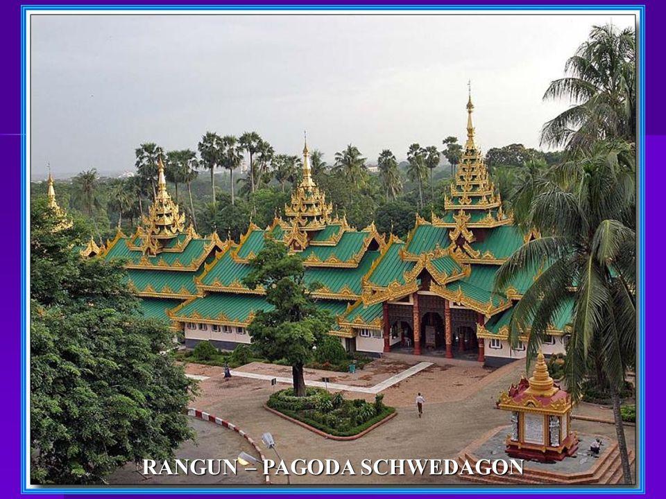 RANGUN – PAGODA SCHWEDAGON