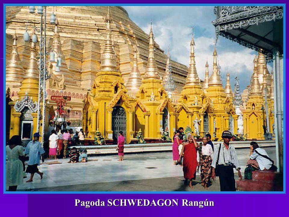 Pagoda SCHWEDAGON Rangún