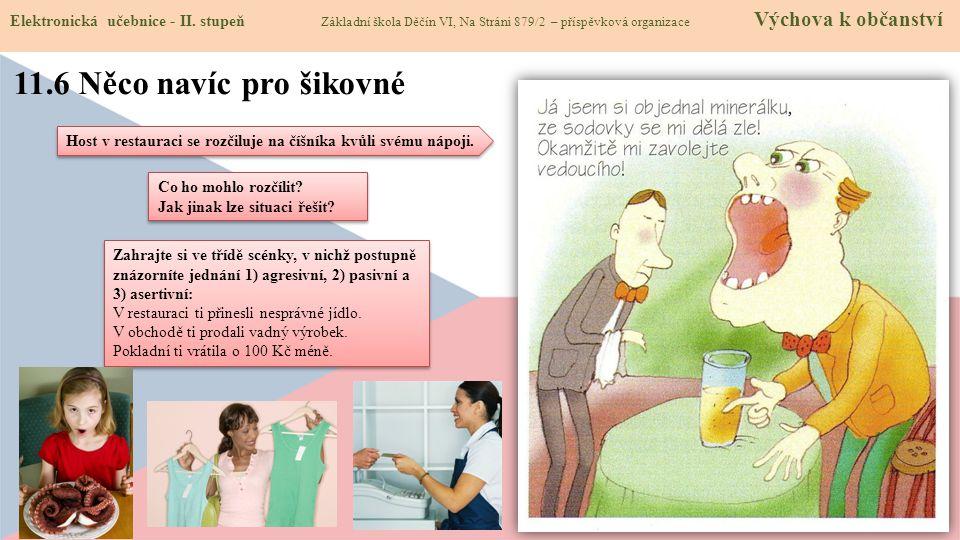 11.6 Něco navíc pro šikovné Elektronická učebnice - II.
