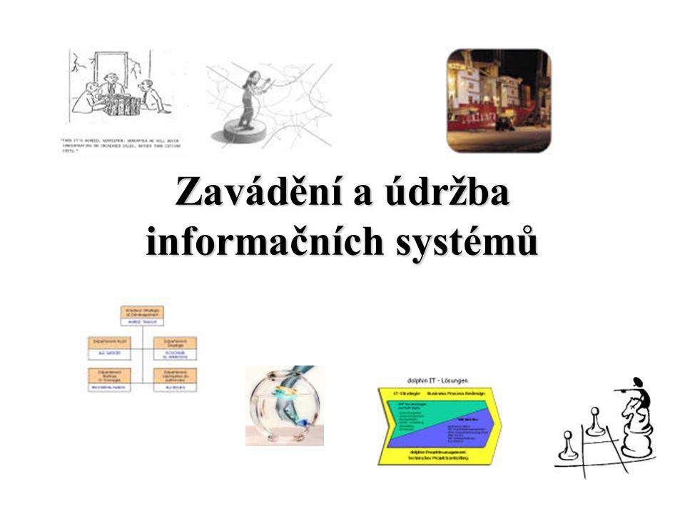 Zavádění a údržba informačních systémů