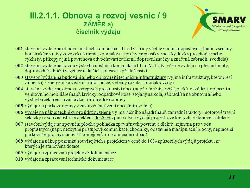 11 III.2.1.1.
