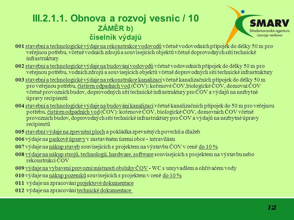 12 III.2.1.1.