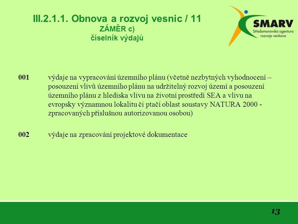 13 III.2.1.1.