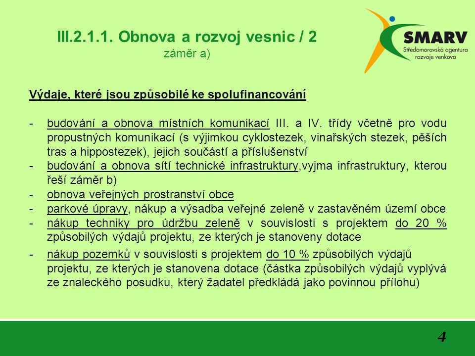 15 III.2.1.1.