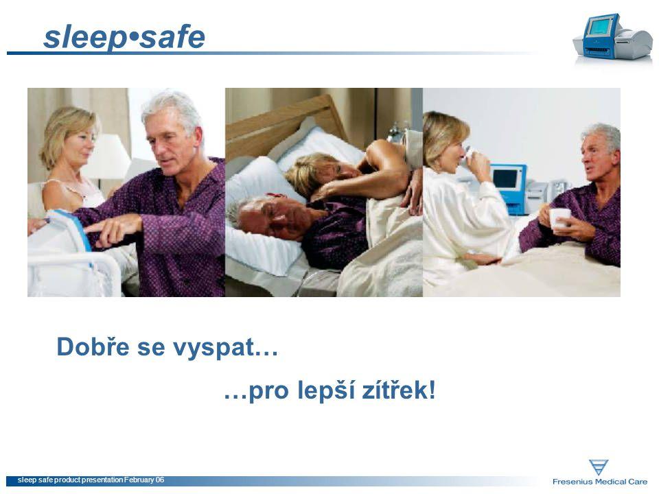 sleep safe product presentation February 06 sleepsafe Dobře se vyspat… …pro lepší zítřek!